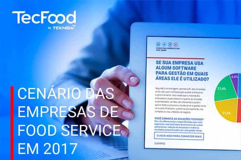 Baixar ebook com o Cenário das empresas de Food Service em 2017