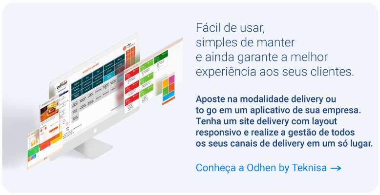 softwares e app de delivery da Teknisa