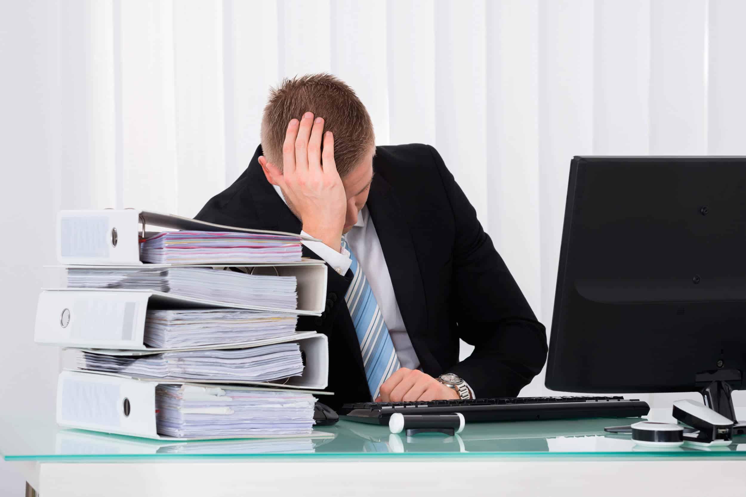 Principais erros dos gestores