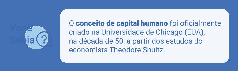 O que é capital humano?