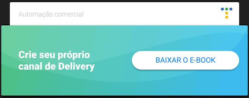CTA para baixar o ebook de delivery