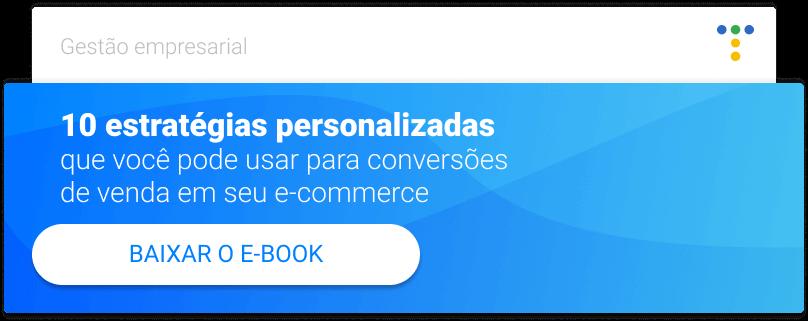 CTA para baixar o ebook 10 estrategias personalizadas
