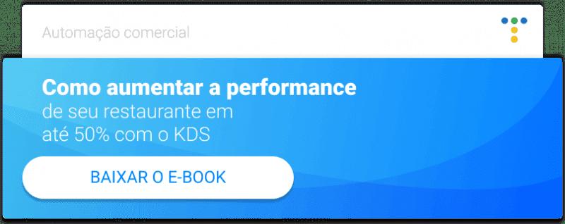 CTA para baixar o ebook do KDS