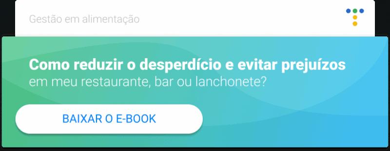 CTA ebook como reduzir desperdício em restaurante