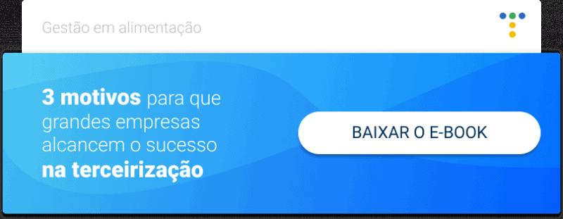 CTA para baixar o ebook sucesso na tercerização