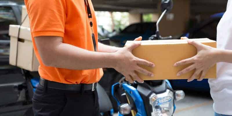 serviços de entrega