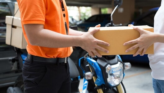 serviços de entregas