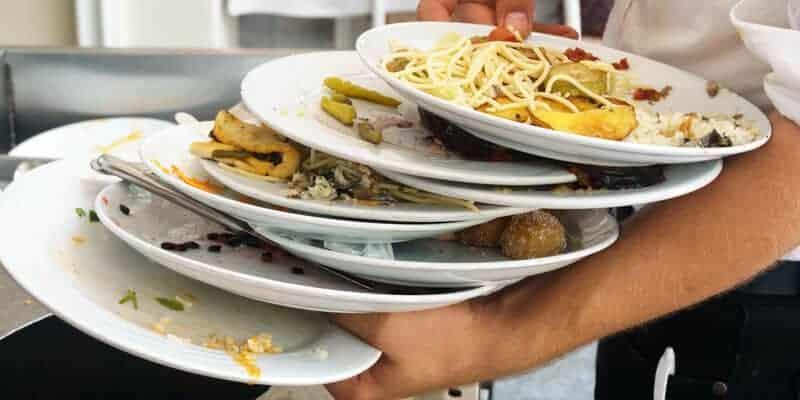 desperdício alimentos