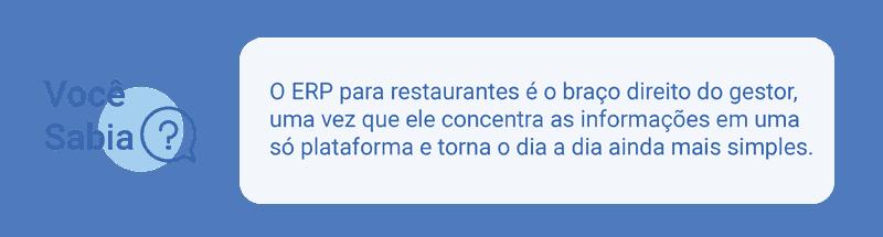 Sistema de ERP para restaurante