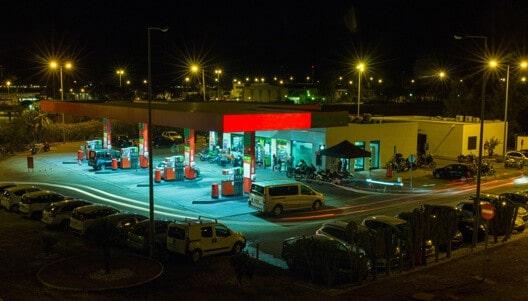 sistema para posto de combustível