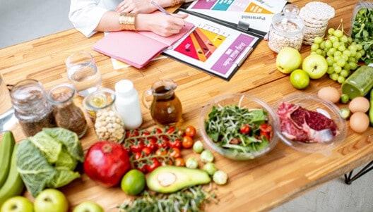 tabela de composição de alimentos