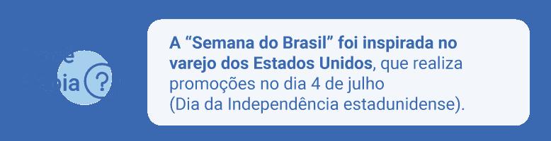 inspiração da Semana do Brasil