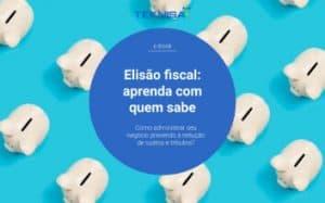 Capa para o ebook Elisão fiscal: aprenda com quem sabe