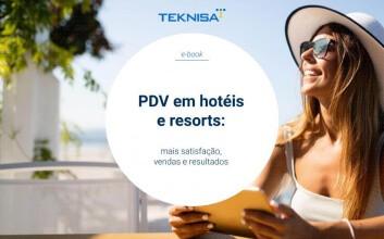 Capa para o ebook PDV em hotéis e resorts: mais satisfação, vendas e resultados!