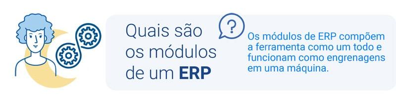 Módulos de um sistema ERP