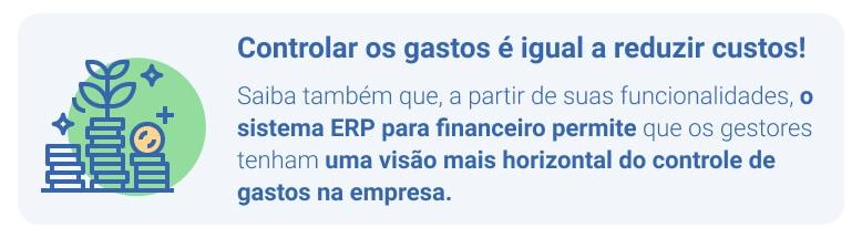 Sistema ERP para gestão financeira