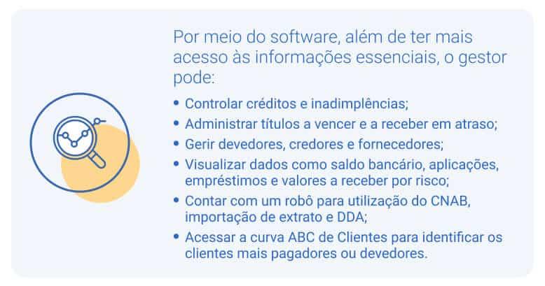 software para gestão financeira