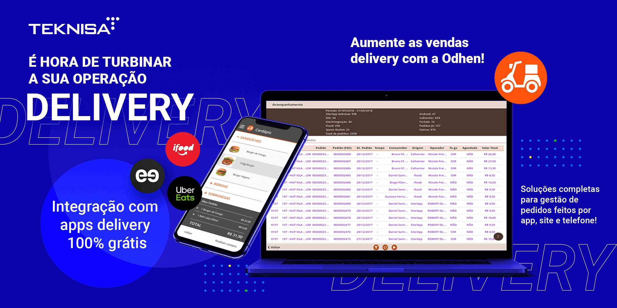 Delivery da Teknisa Integração 100% free
