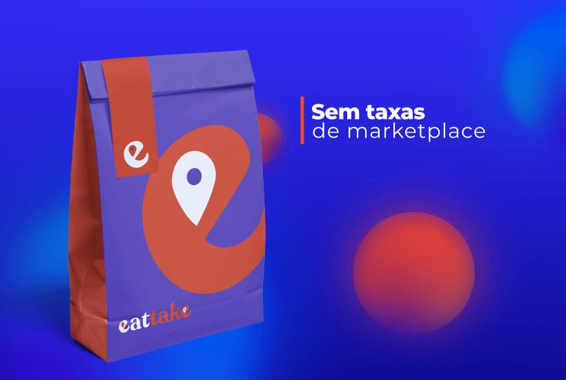 eattake marketplace sem taxas