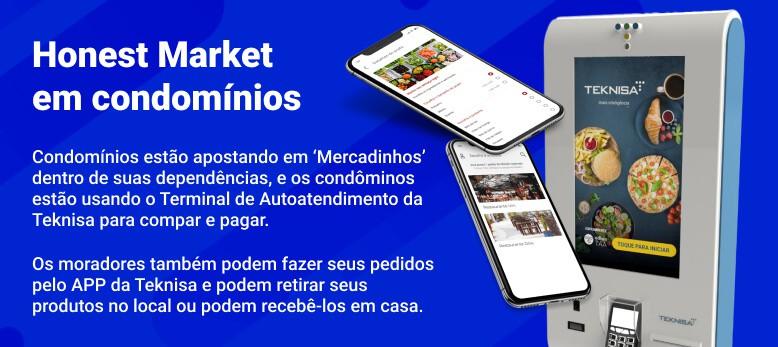 Self-Checkout Honest Market PDV Autoatendimento