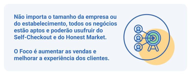 Sistema para aumentar a experiência do cliente - Self-Checkout e Honest Market