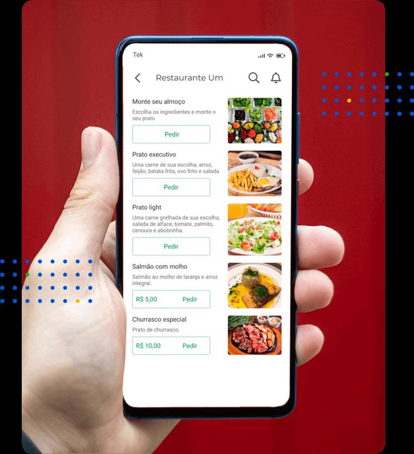 gestão em alimentação app cardapio digital