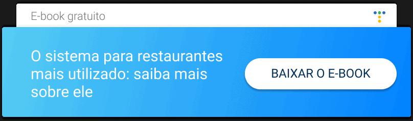 Baixe o e-book Sistema para gestao de restaurantes bares redes e franquias